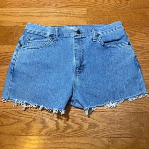 Lee Relaxed Fit Cut-Off Shorts